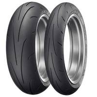 Dunlop Sportmax Q3 Pair deal Fitted 120 & 180 or 190 fitted and Balanced